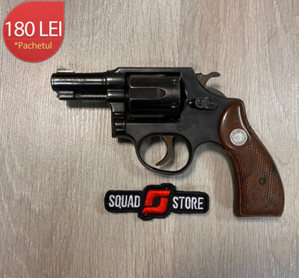 Revolver calibru .38 Special + 30 cartuse